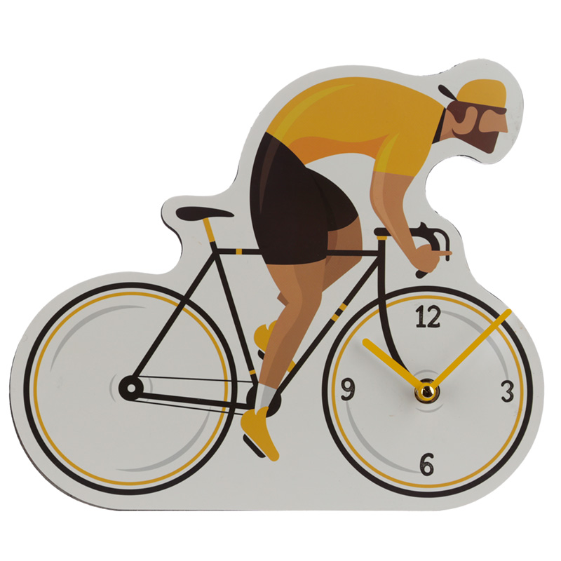 Decorative Bicycle Cycle Works Wall Clock