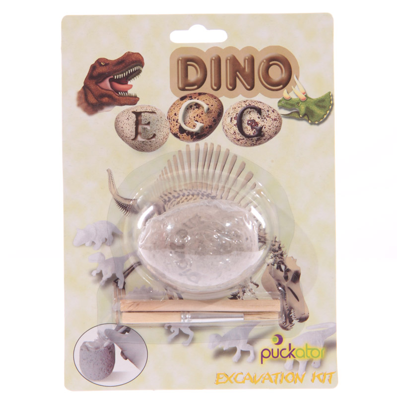 Fun Excavation Dig it Out Kit - Glow in the Dark Dinosaur