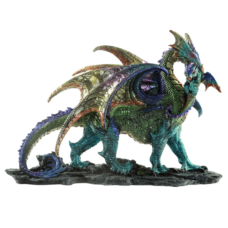 Mother Dragon Fantasy Dragon Figurine