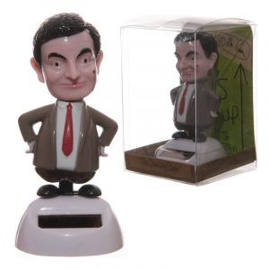Fun Mr Bean Solar Powered Solar Pal