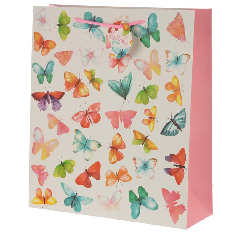 Butterfly House Extra Large Gift Bag