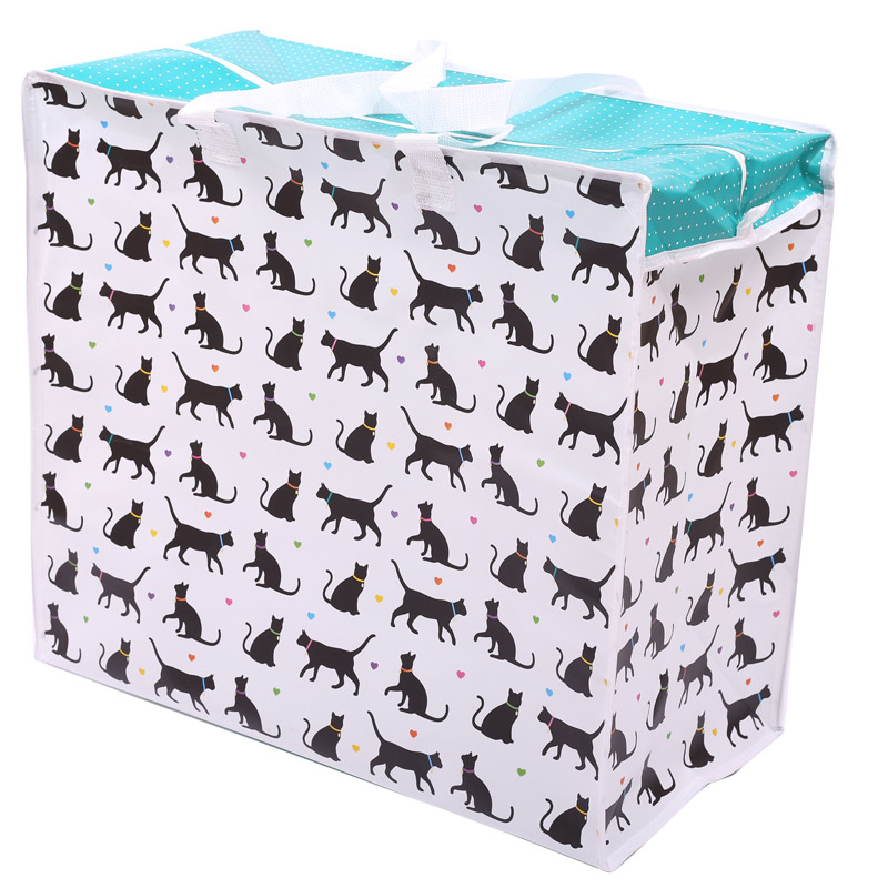 Fun Practical Laundry & Storage Bag - I Love My Cat