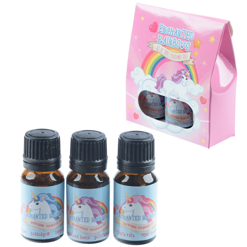 Set of 3 Eden Fragrance Oils - Unicorn Sweet Scents