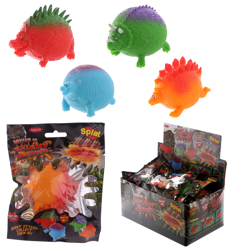 Fun Kids Splat Dinosaur Ball