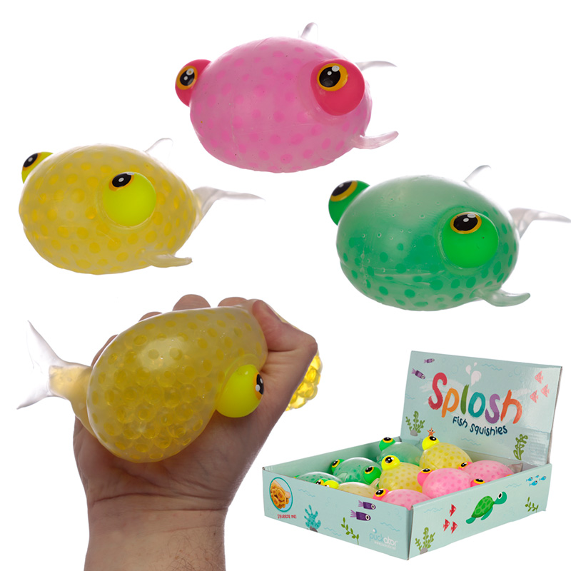 Fun Kids Squeezy Fish