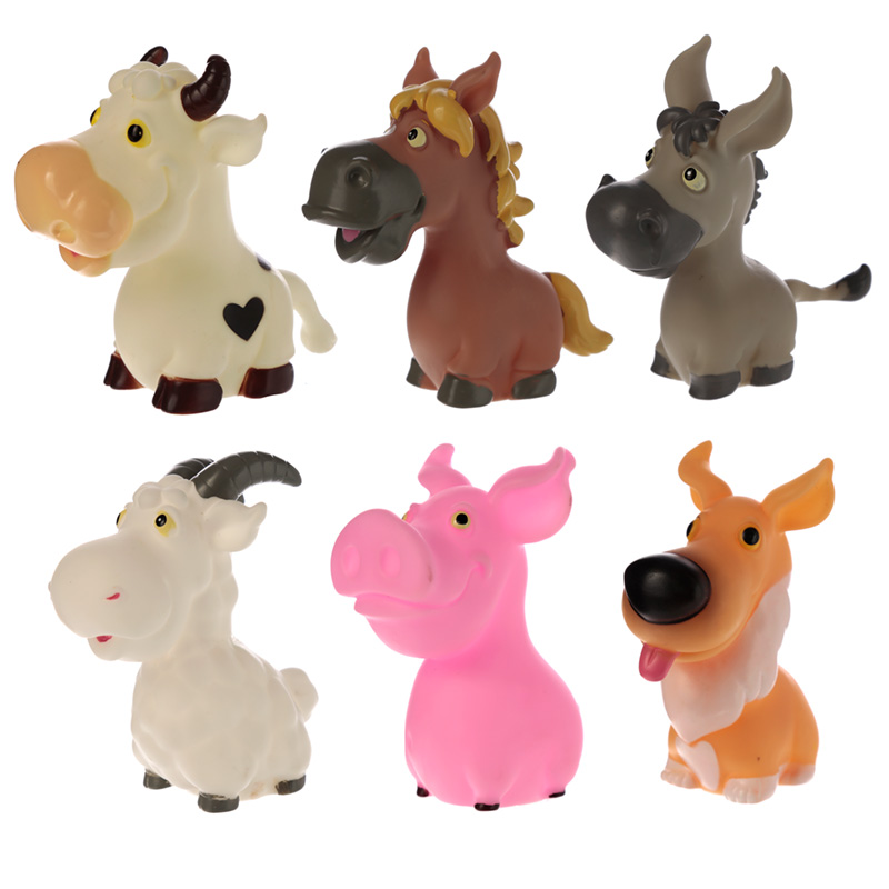 Fun Kids Squeaky Squeezy Farm Animals