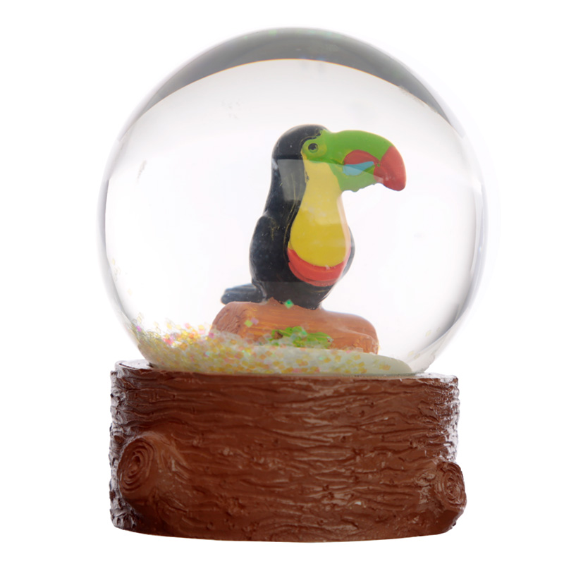 Collectable Toucan Snow Globe Waterball